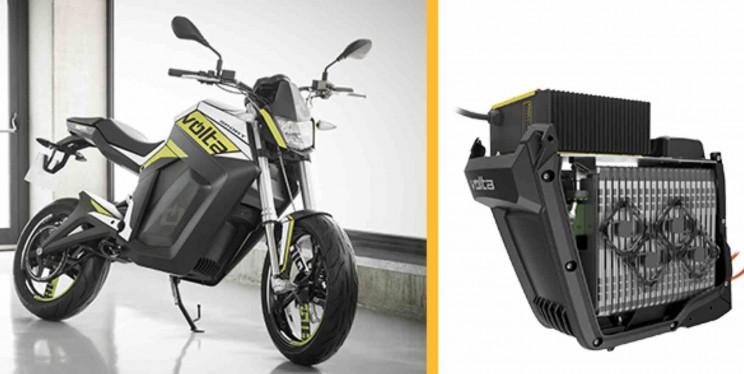 volta electric motorbike accu