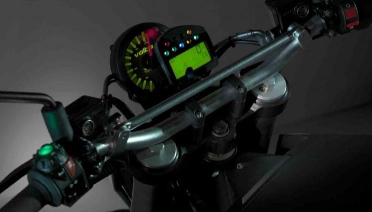 volta electric motorbike stuur