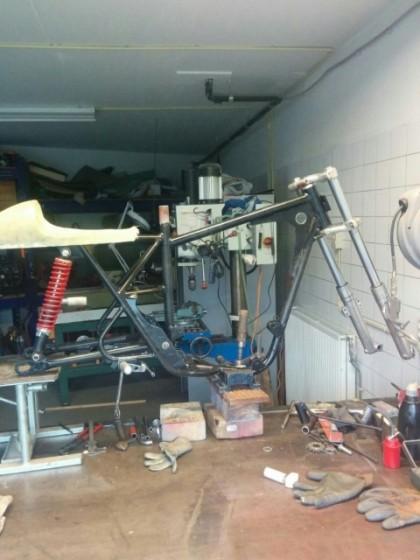 Bultaco tss 125 part 2 27