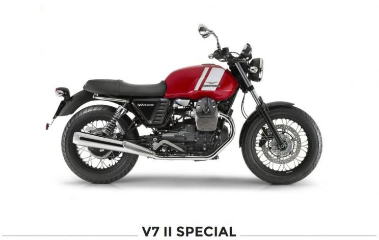 moto guzzi v7 special rood