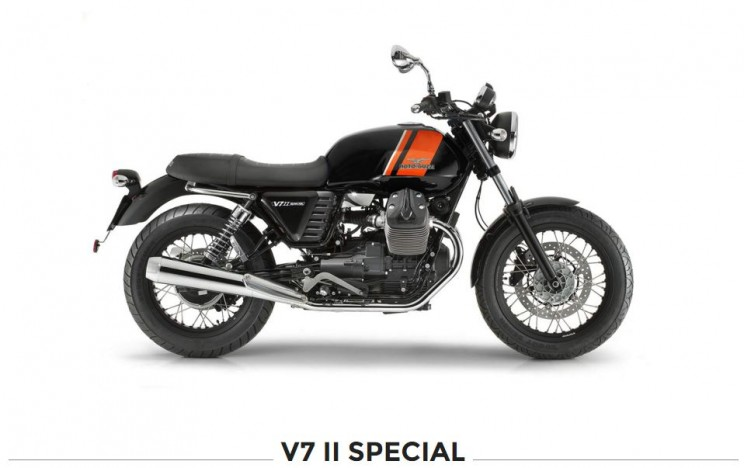 moto guzzi v7 special zwart