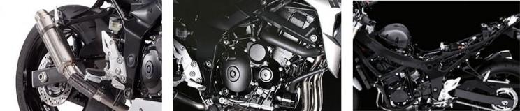 Suzuki GSR750Z ABS Street Extreme Street details
