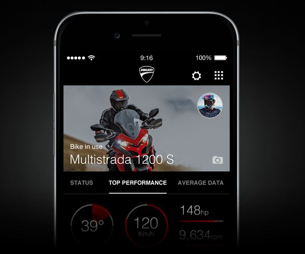 multistrada enduro link app 3
