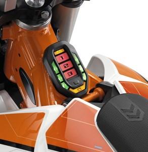 KTM Freeride E-serie 2016 controller