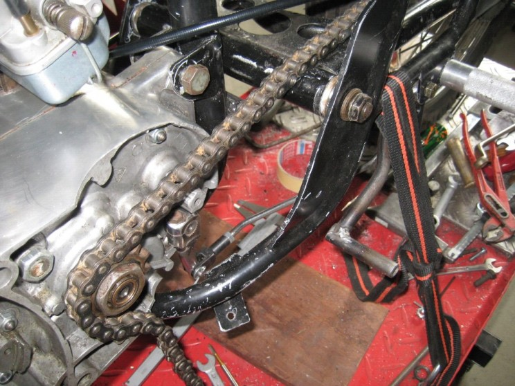 Bultaco TSS 125 part 3 t1.1