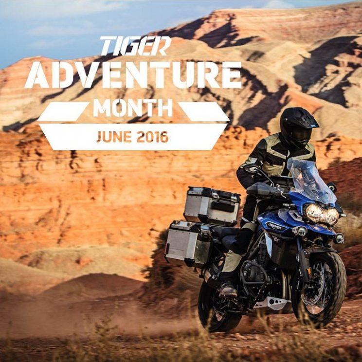 triumph tiger adventure maand TIGER EXPLORER XRT 2