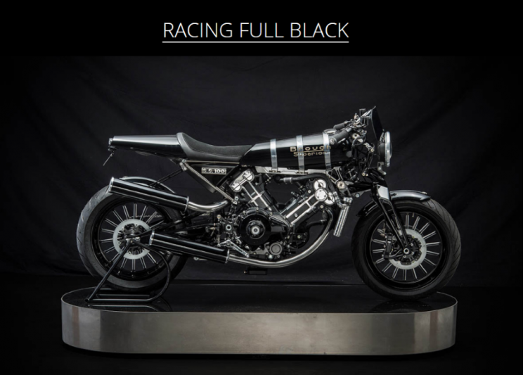 Brough Superior SS100 Racing full black new (1)