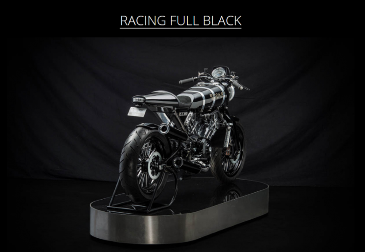 Brough Superior SS100 Racing full black new (2)