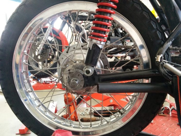 Making a Bultaco TSS 125 part 4 IMG (17)