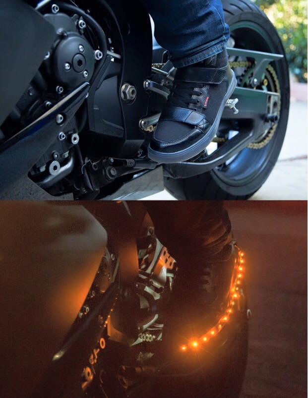 ROAME Zeros motorschoenen licht 2