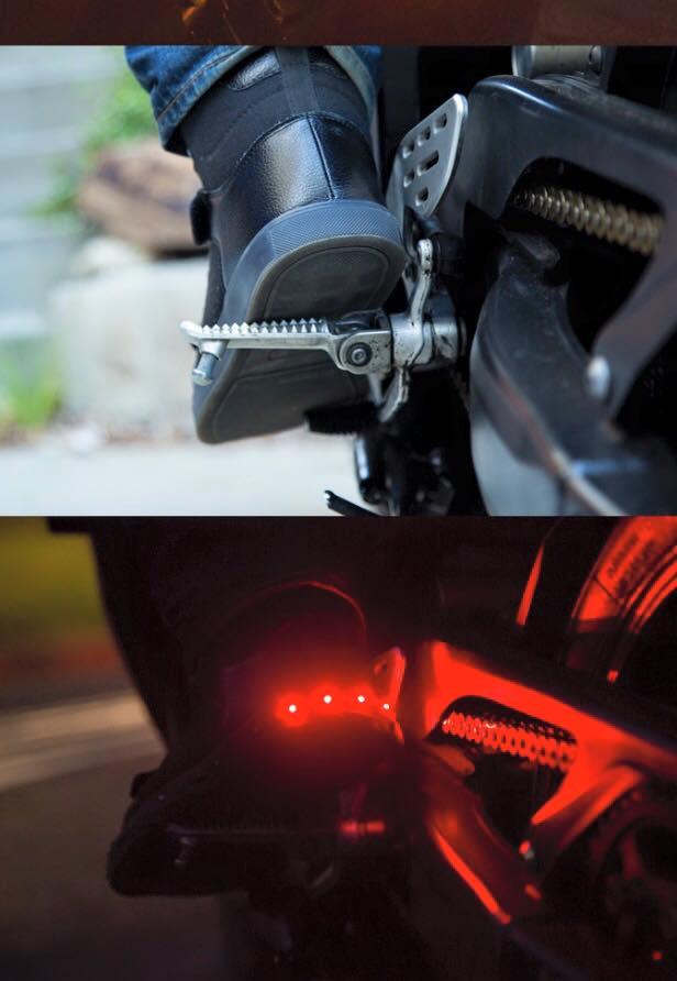 ROAME Zeros motorschoenen licht