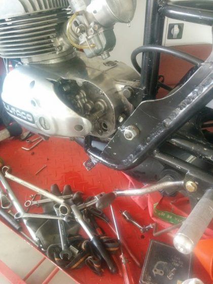 Making a Bultaco TSS 125 part 5 IMG (2)