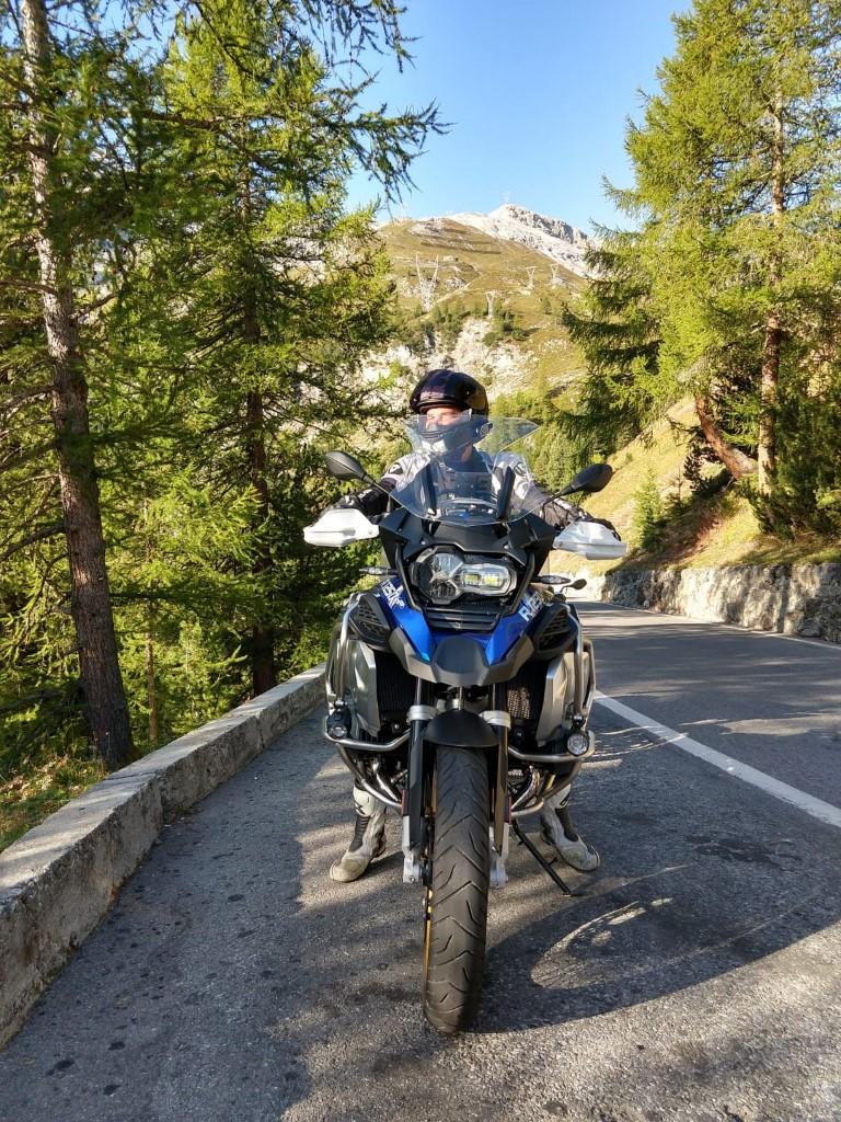 BMW motortest R 1250 GS stelvio