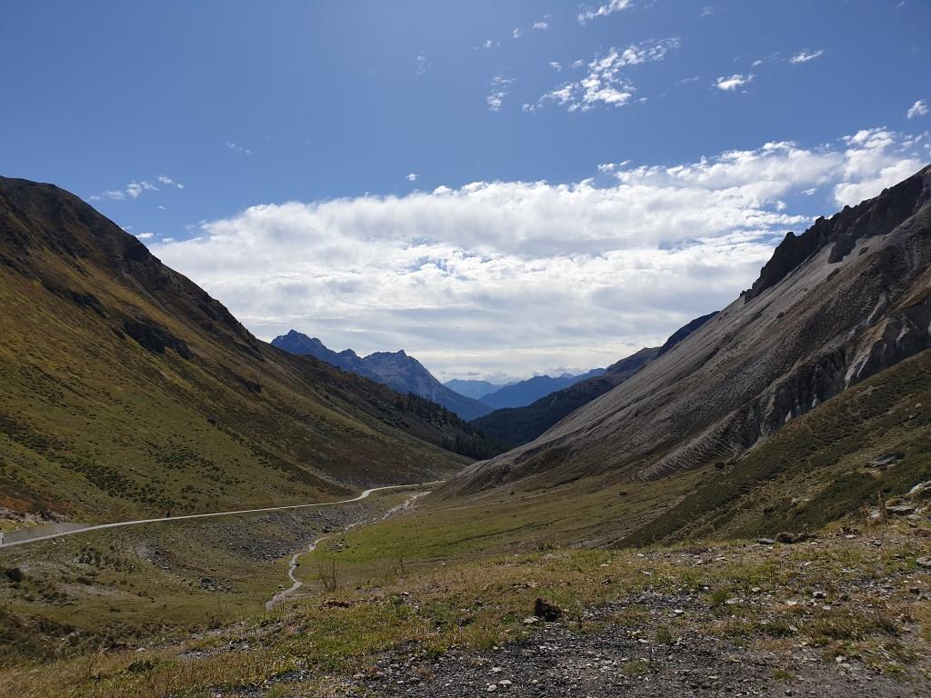 motorrijden bergpassen zwitserland  berninapas