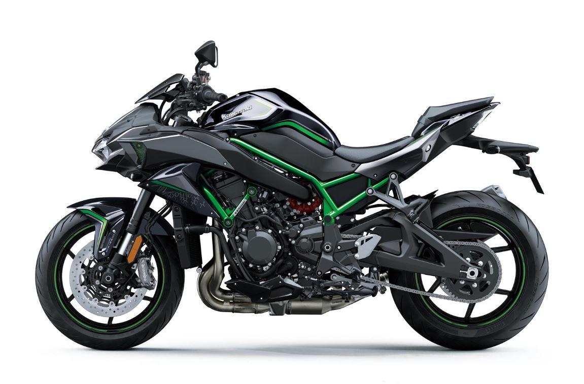kawasaki z h2 2020 green