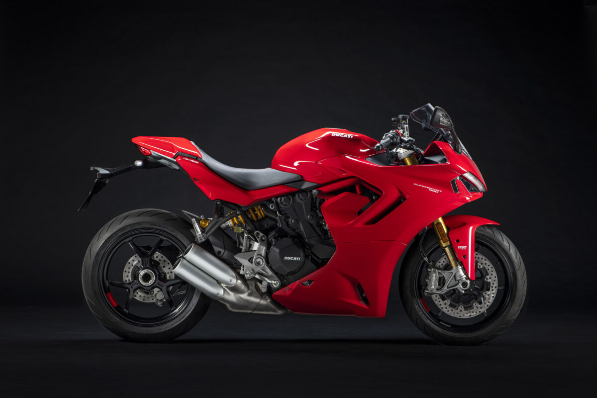 Ducati Supersport S 950 Red 2021