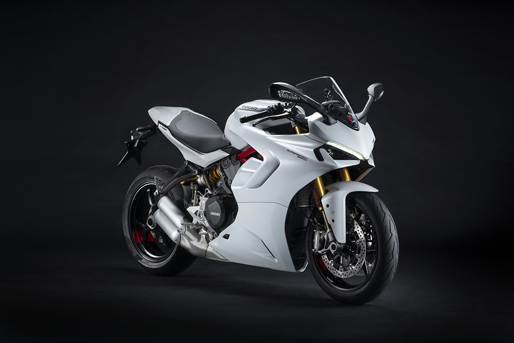 Ducati Supersport S 950 arctic white 2021