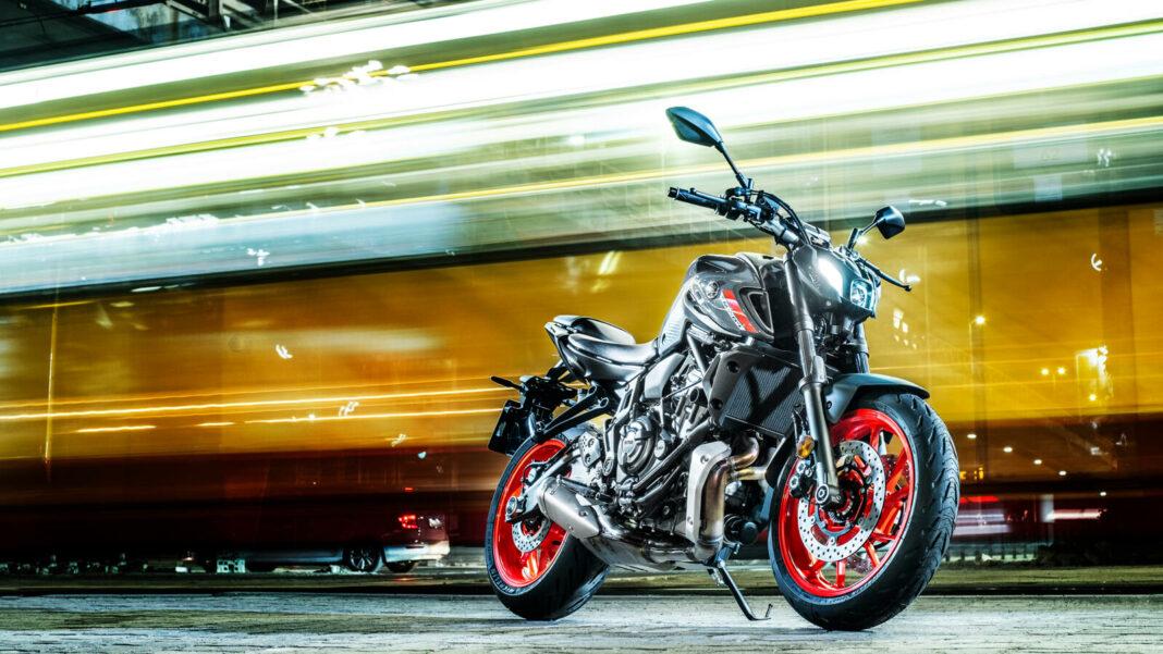 Yamaha MT-07 2021 Storm Fluo
